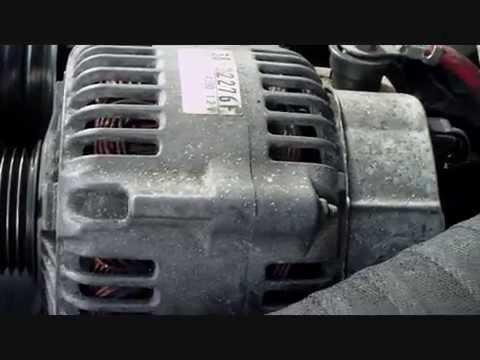 Remove the alternator on a Jeep Grand Cherokee  WJ  3.1 td year 2000