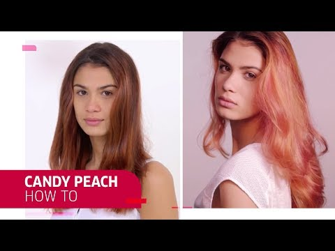 Candy Peach Hair | How To Use Color Fresh Create | Wella Professionals