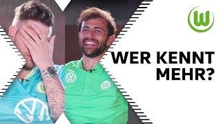 Kennst du alle Relegationssieger? | Wer kennt mehr? Admir Mehmedi vs. Daniel Ginczek | Folge 10