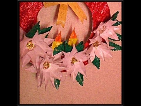 Easy Kids Crafts.. PAPER Wreath