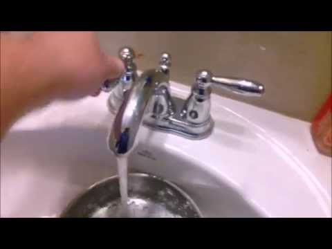 Plumbing Faucet Low Water Pressure & Humming Noise in New Home (Help Fix Repair Regulator Problem)
