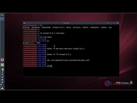 How to install Drupal CMS 8.6.1 on MX Linux 17