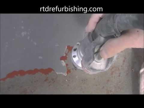 concrete porch paint removal
