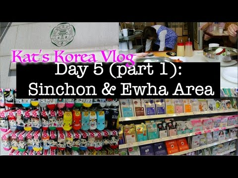 🇰🇷🏫Korea Vlog: Sinchon & Ewha | Shopping by my old school + where to find cute affordable clothes
