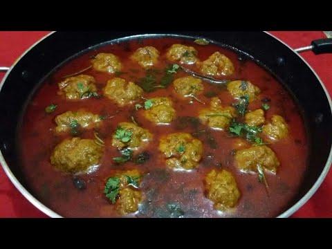 Kofta ka salan - Mutton kofta curry - कोफ्ता करी रेसिपी