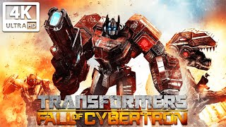 TRANSFORMERS: FALL OF CYBERTRON All Cutscenes (Game Movie) 4K 60FPS Ultra HD