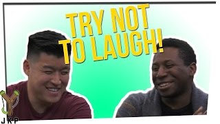 Try Not To Laugh: Bart & Josh