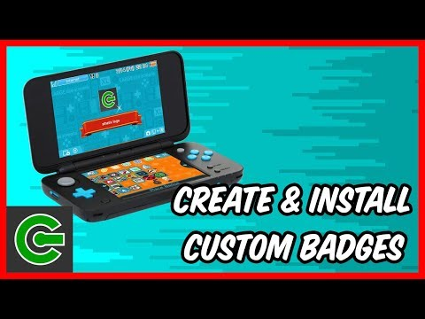 How to create and Install 3DS custom badges