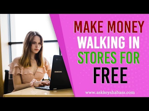 Make Money Walking In Stores For Free