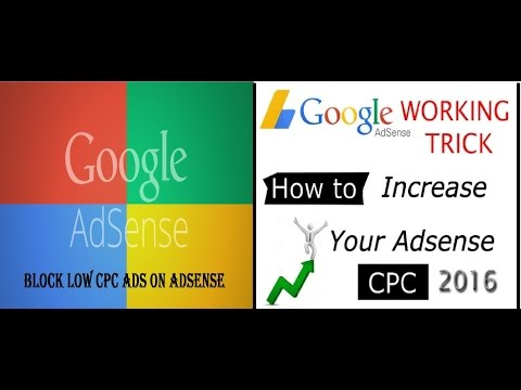 How to find low CPC Ads on youtube channel and Block them in adsense-increase your Earning