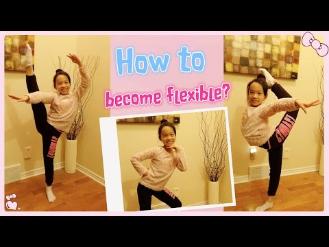 How to Become Flexible - Stretch flexibility exercises2 for beginners #7 | RG Selena