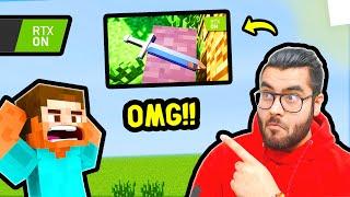 😮 OMG!!! RTX in Minecraft 😂 [Funny] | Hitesh KS