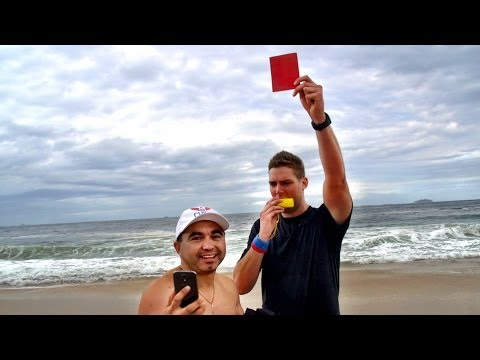 Red Cards in Rio Prank |