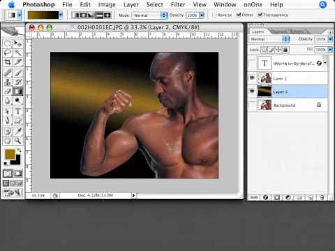 how to change background in photoshop cs2