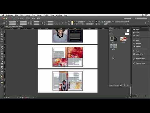 InDesign CC tutorial: Inserting, deleting, and moving pages | lynda.com