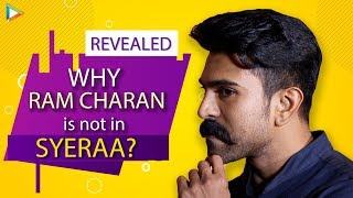 Ram Charan REVEALS Why He Has Not Acted In Sye Raa Narsimha Reddy | Chiranjeevi | Big B