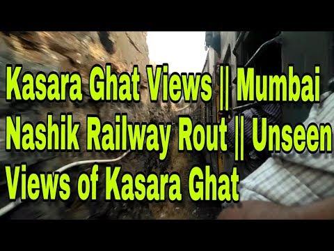 Kasara Ghat Views || Mumbai Nashik Railway Rout || Unseen Views of Kasara Ghat