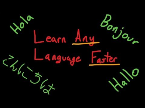 HOW TO LEARN ANY LANGUAGE FASTER!