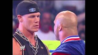 WWE John cena and kurt angle battle rap 2003