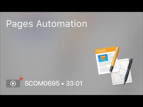 SCOM0695 - Pages Automation - Preview