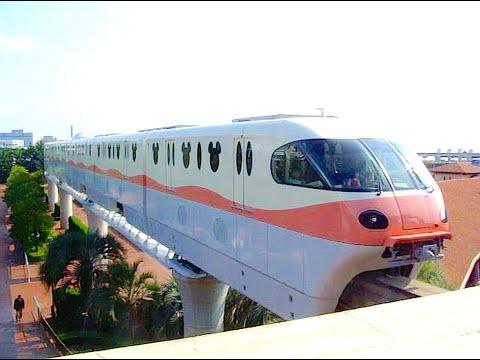 Tokyo Disney Resort Line Monorail Front Seat | CarNichiWa.com
