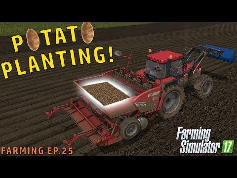 POTATO PLANTING | Farming Simulator 2017