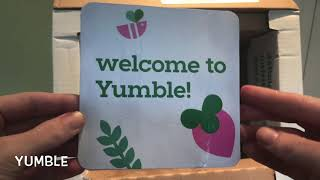 Yumble Kids Unboxing by MealFinds