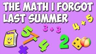 I Forgot My Math Over Summer!