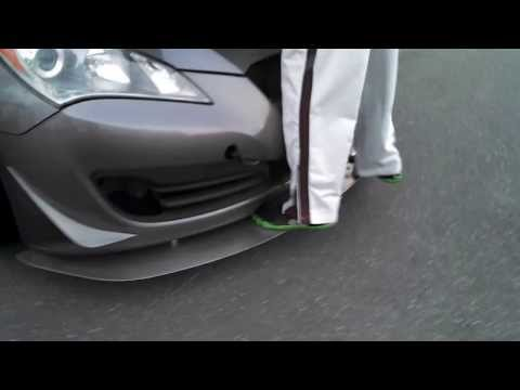 Track King Racing Front Splitter Weight Test