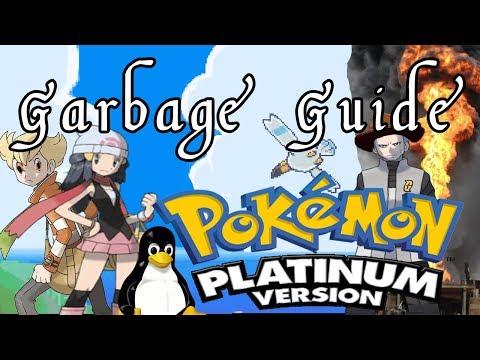 Garbage Guide To Pokemon Platinum