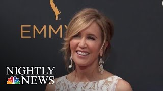 Felicity Huffman Sentenced To 14 Days In College Cheating Scandal | NBC Nightly News