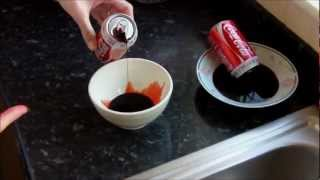 College Hoax Project: Blood In Coke Cans