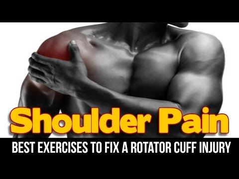 Best Exercises Used To Correct A Rotator Cuff Injury