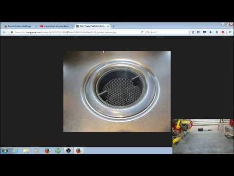 3D Printing A Sink Strainer...Very Interesting Print