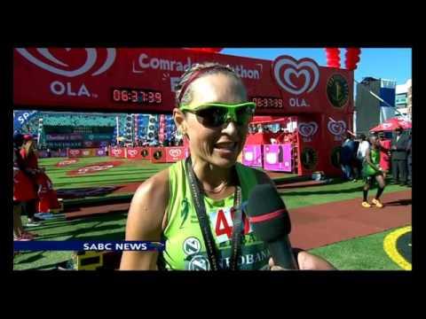 South Africa's David Gatebe wins 2016 Comrades Marathon