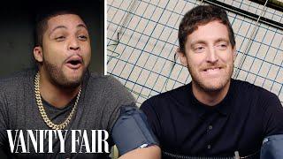 Thomas Middleditch and O'Shea Jackson Jr. Take a Lie Detector Test   Vanity Fair