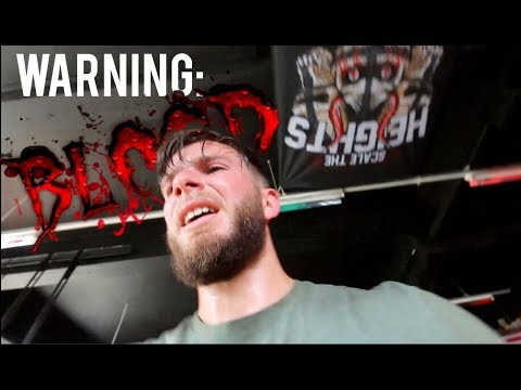 BACK ON BOX TOUR ft. This Engine Building Workout Ruined Me (WARNING: Blood *Horrific Injury*)