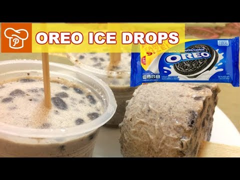 How to Make Homemade Oreo Ice Drops - Panlasang Pinoy Easy Recipes