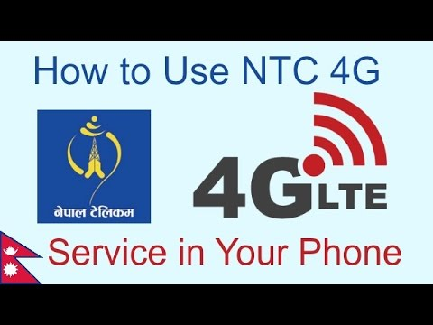 How to Use NTC 4G Service in your Mobile