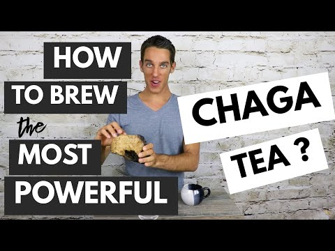 CHAGA MUSHROOM BENEFITS & HOW TO MAKE CHAGA TEA (EASY RECIPE)