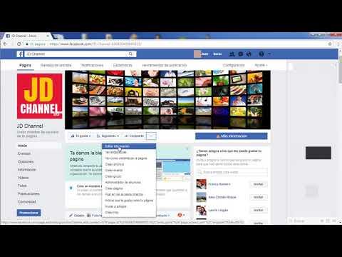 Como Personalizar la URL de mi Página de Facebook