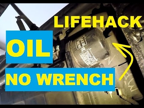 Review. Road Home: How to change the oil filter without a special wrench? Lifehack