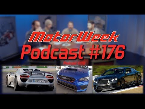 MW Podcast #176 - Porsche Hybrids, Subaru Special Editions, Bentley Continental Supersports