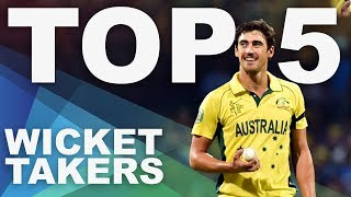 The Most Wickets at the 2015 World Cup? | Top 5 Archive | ICC Cricket World Cup