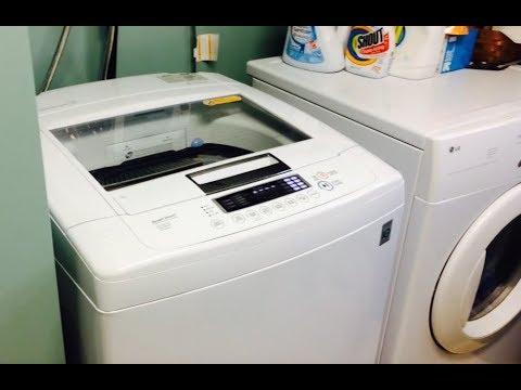 LG Washer WT1101CW Unbalanced Load Repair UE
