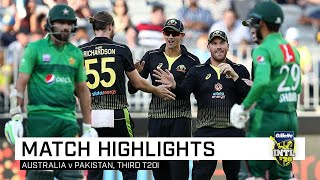 Australia thump Pakistan for a 10-wicket trouncing | Third Gillette T20I