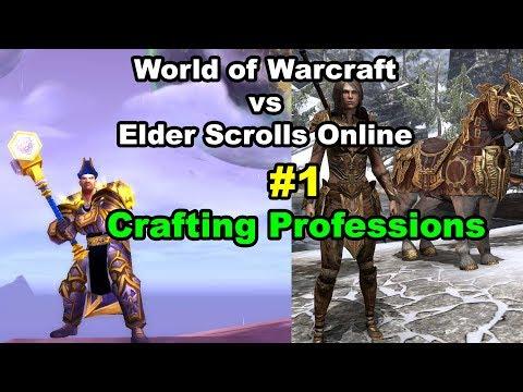 World of Warcraft vs Elder Scrolls Online #1 Crafting Gear