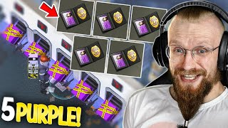 THE MOST EXPENSIVE OPENING IN THE GAME! (Purple Crates) - Last Day on Earth: Survival