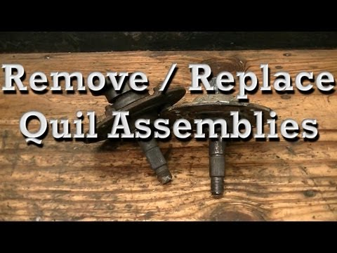 How to Remove and Replace Quil / Spindle Assemblies on Older MTD Riding Mowers