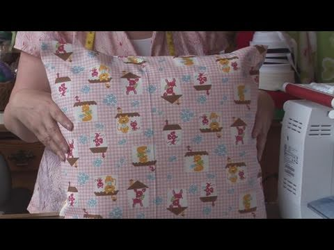 How To Make A Pillow Cover
